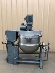 Groen-80-Gallon-316-Stainless-Jacketed-Dual-Motion-Mix-Kettle