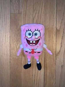 Ty Beanie Baby SpongeBob PinkPants Breast Cancer Awareness 2006