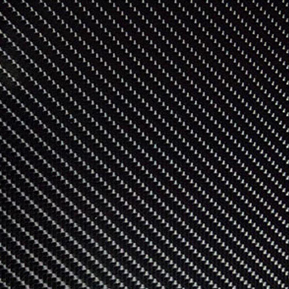 3D Film Carbone Car-Wrapping Noir de Voiture, Car-Wrapping Carbone avec Conduits D'Air sans Bulles 6d015d