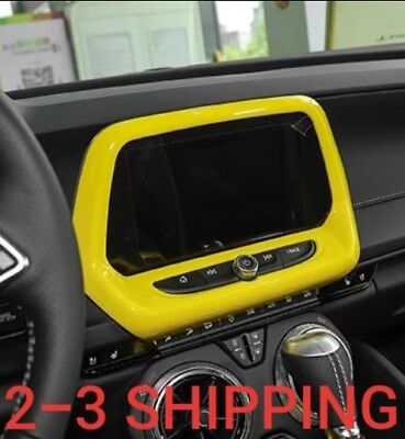 Camaro 2016 2017 2018 Red Door Trunk Button Ring Cover Trim ZL1 1LE 1LT RS 2SS