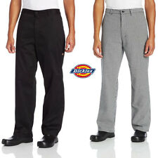 Dickies Chef Professional Chef Pants With Belt Loops Amp Zipper Fly Dc223