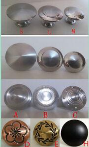Stainless steel Satin Nickel Knob Pull Handle Kitchen ...