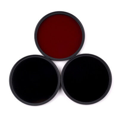 58mm 630nm+720nm+950nm Infrared IR Optical Grade Filter for Camera Lenses