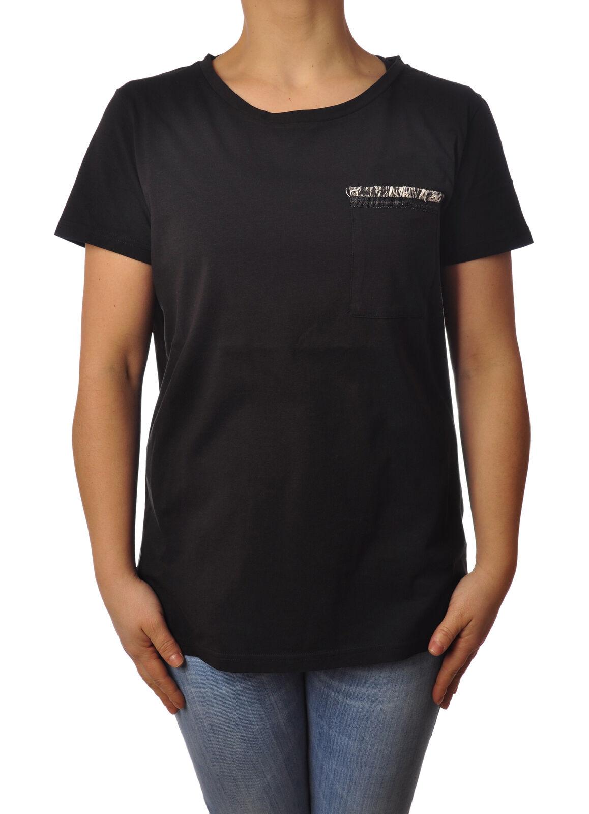 Woolrich - Topwear-T-shirts - Woman - schwarz - 4984210H184136