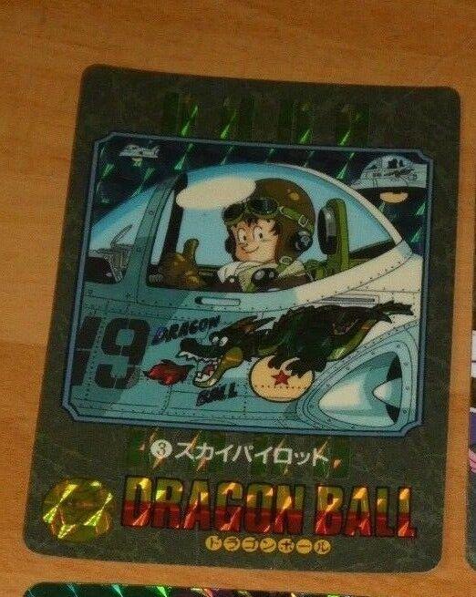 Dragon ball z gt dbz hervorruft, visuellen abenteuer teil 1 - prisma - 3. japan 1991
