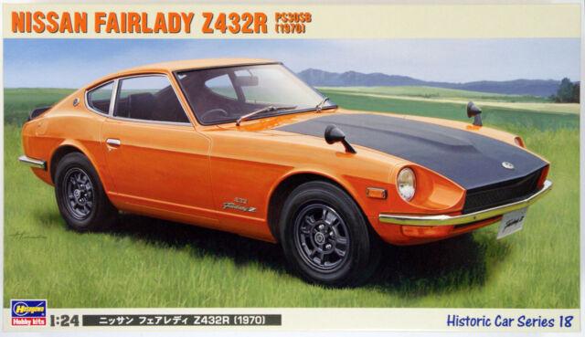 Hasegawa HC-18 Nissan Fairlady Z432R 1970 1/24 Scale Kit