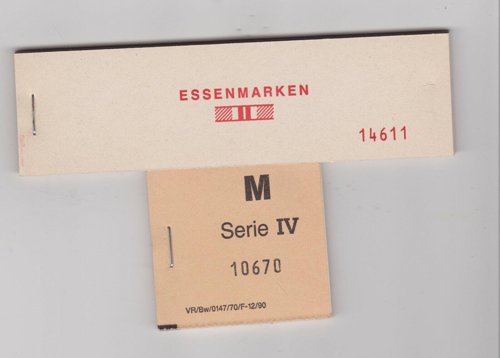 Bild 1 - Frühe  Bundeswehr Nostalgie Essenmarken
