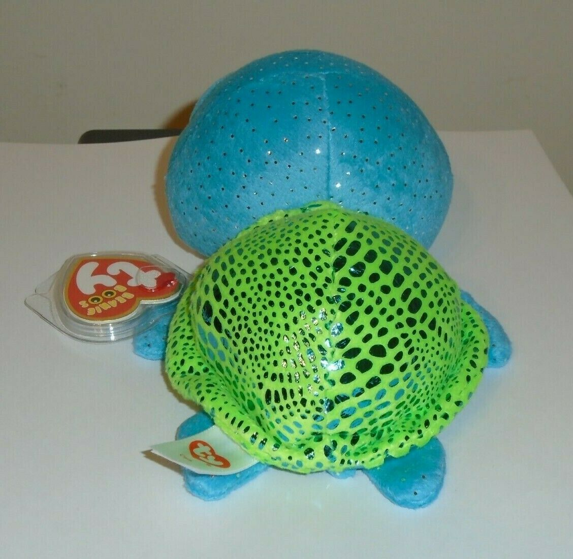 """Ty Beanie Boos CARA the Turtle 6-8/"""" Sea World Exclusive NEW MWMT"""