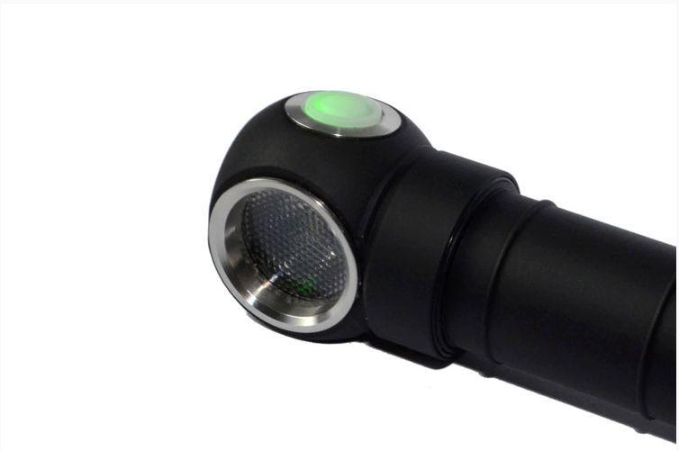 Armytek Wizard Pro V2. XM-L2 Headlamp NL183 w/ NL183 Headlamp Rechargeable Battery 0c3187