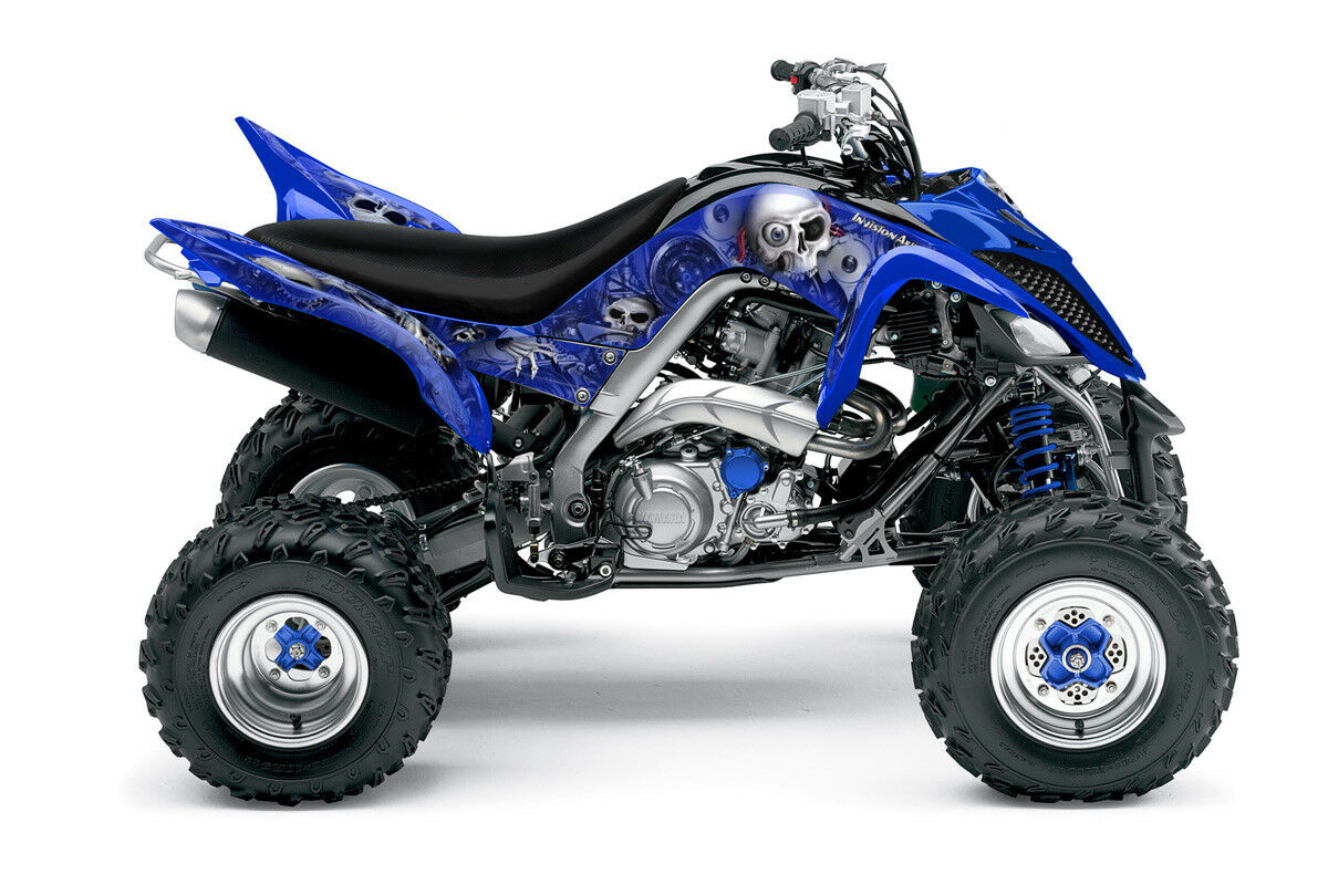 Yamaha Raptor 700 Graphics (2013 & Later) Head Creeps by Invision Artworks