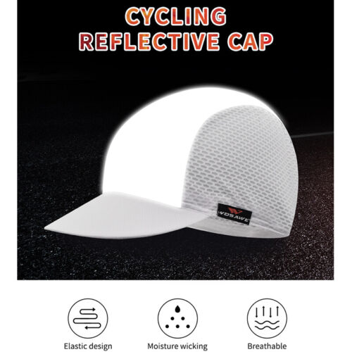 Cycling Sports Reflective Caps Breathable Running Hiking Bike Riding Hat Adults