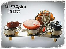 Fender Stratocaster Strat G&L Legado cableado Upgrade Kit-PTB Sistema + añadir Cuello