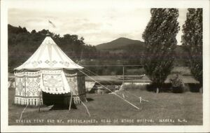 Warren-NH-Syrian-Tent-Rear-of-Morse-Museum-Real-Photo-Postcard-c1920s