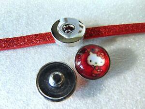 Click Button Druckknopf für Armband Wechselschmuck
