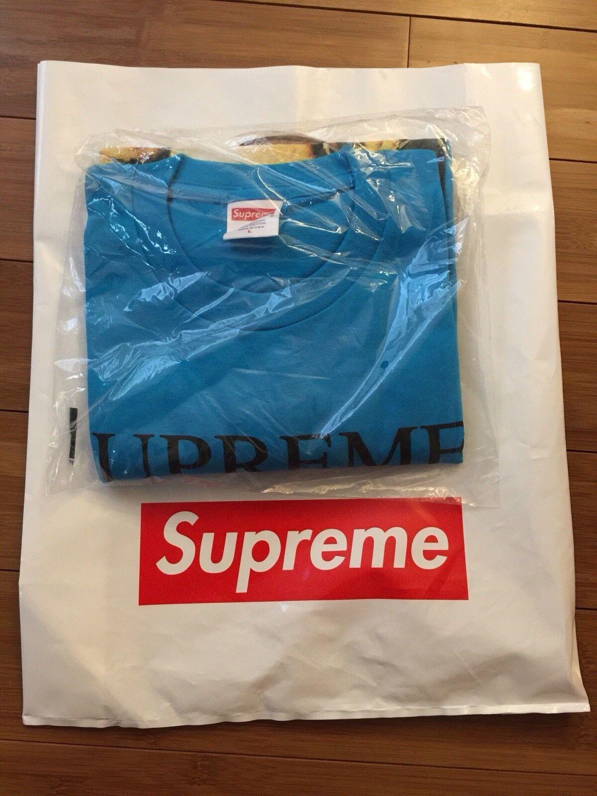 Supreme Still Life Tee Bright blu, Large, 100% autentico shipping  Free shipping autentico in USA fdb298