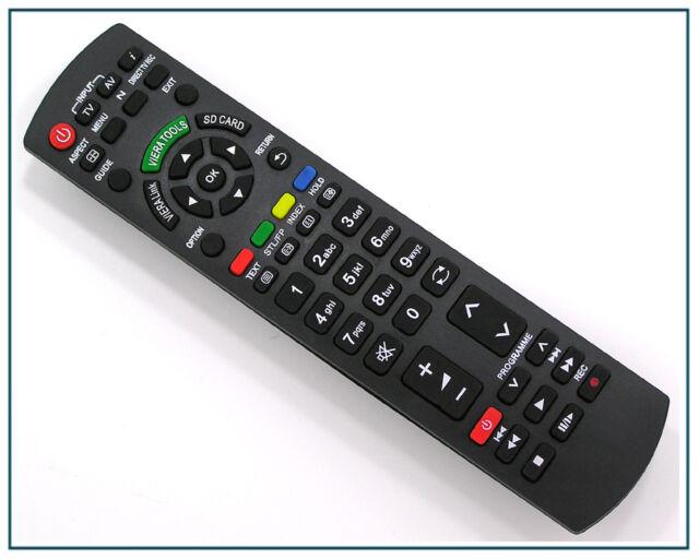 Ersatz Fernbedienung für Panasonic N2QAYB000489 VIERA LCD TV Remote Control Neu