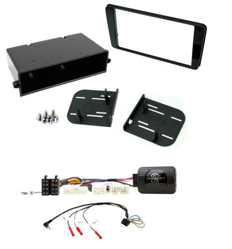 Single//Double Din Panneau Avant Kit de montage et de direction Adaptateur pour s/'adapter Subaru BRZ 17 sur