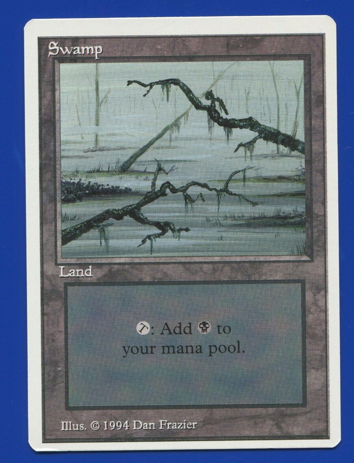 Swamp V3 Summer   Edgar Edition MTG magic Basic Lands SEE SCANS