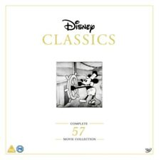 Disney Classics: Complete 57 Movie Collection- DVD- NEW- 871741857619