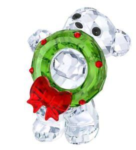 New-in-Box-Swarovski-Kris-bear-Christmas-Wreath-2017-ANNUAL-EDITION-5286159