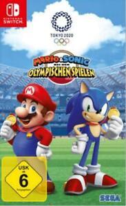 Nintendo Switch Mario und Sonic Tokyo 2020 Olympische Spiele NEU