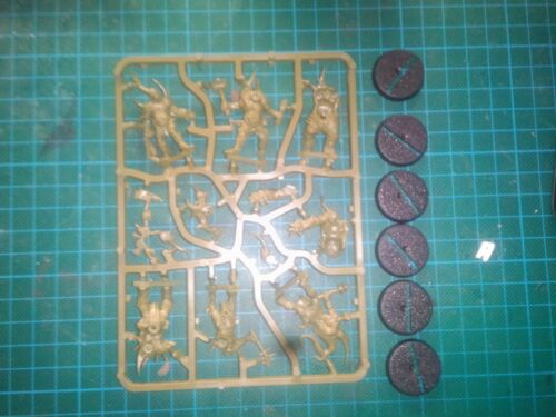 x6 Death Guard Poxwalkers Chaos Nurgle Easy to Build Warhammer 40000 40K