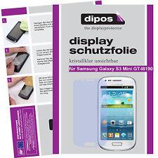 2x Samsung Galaxy s3 Mini Pellicola Protettiva Proteggi Schermo Chiaro Pellicola INVISIBILE