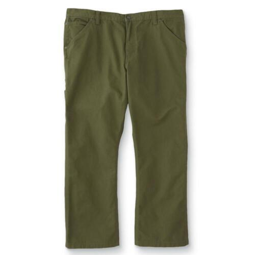 NWT DieHard Men/'s Big /& Tall Duck Dungaree Carpenter Pants Size U Pick Color