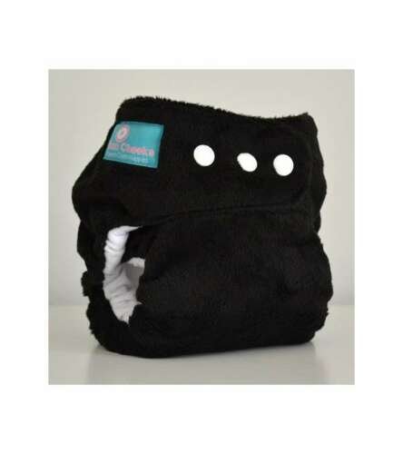 BumCheeks Reusable Cloth Nappy One Size Fits All Black