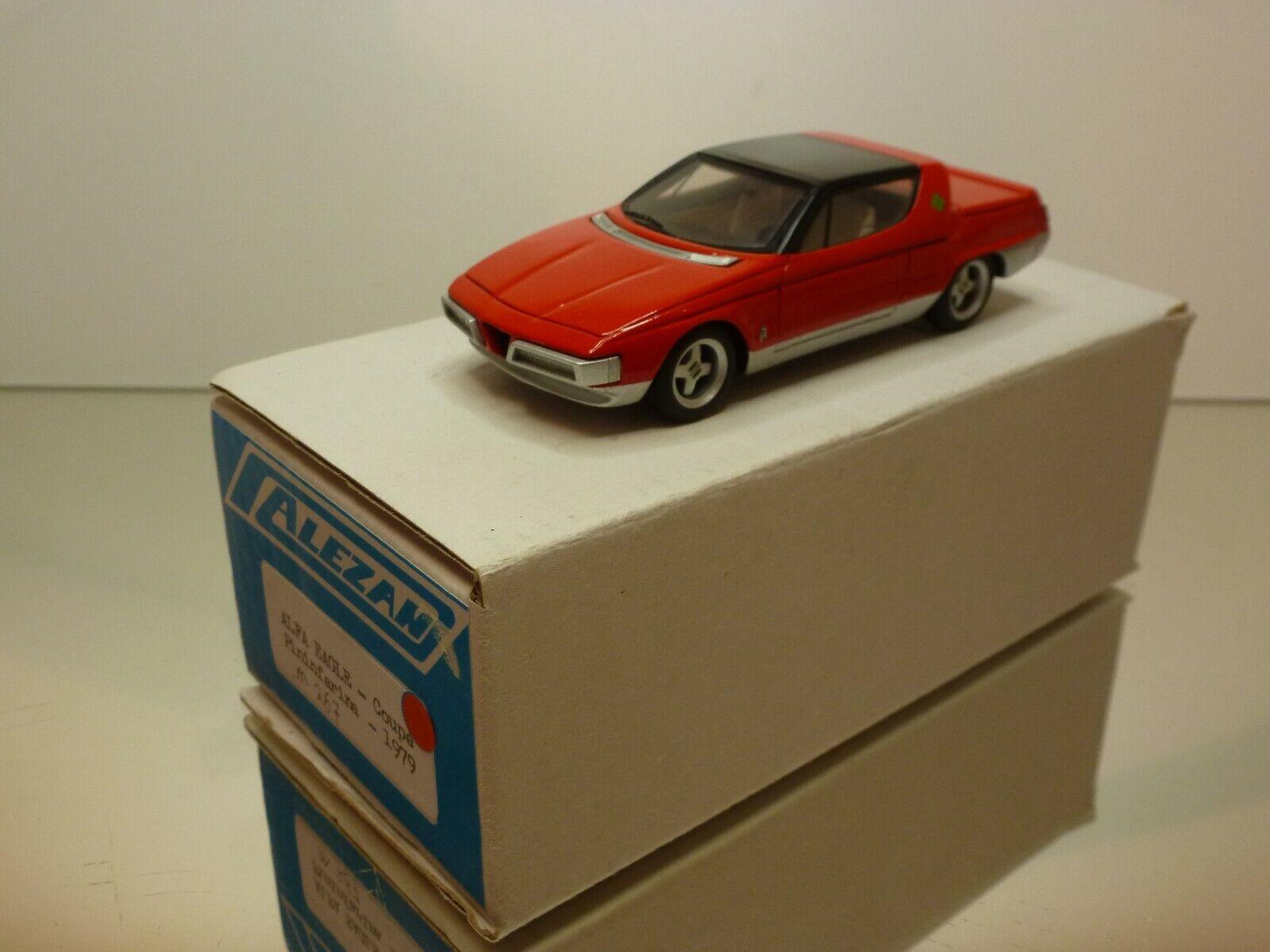 ALEZAN M267 ALFA ROMEO EAGLE COUPE - RED 1 43 - NEAR MINT CONDITION IN BOX