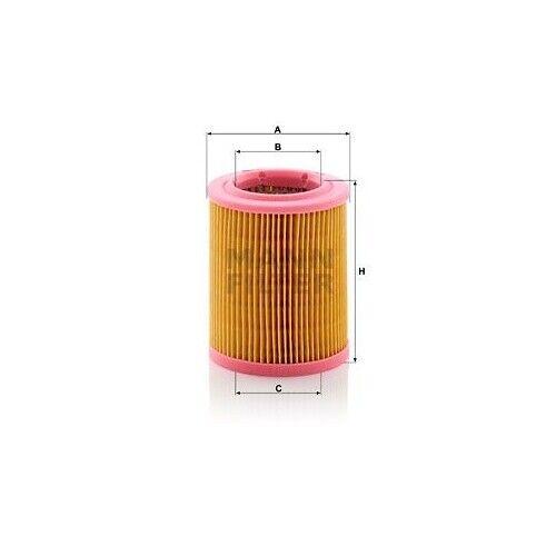 1 Luftfilter MANN-FILTER C 1024 passend für JAWA MOTORCYCLES
