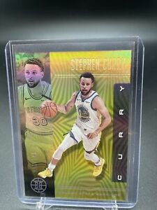 2019-20-Panini-Illusions-Yellow-parallel-Stephen-Curry-005-149-SP