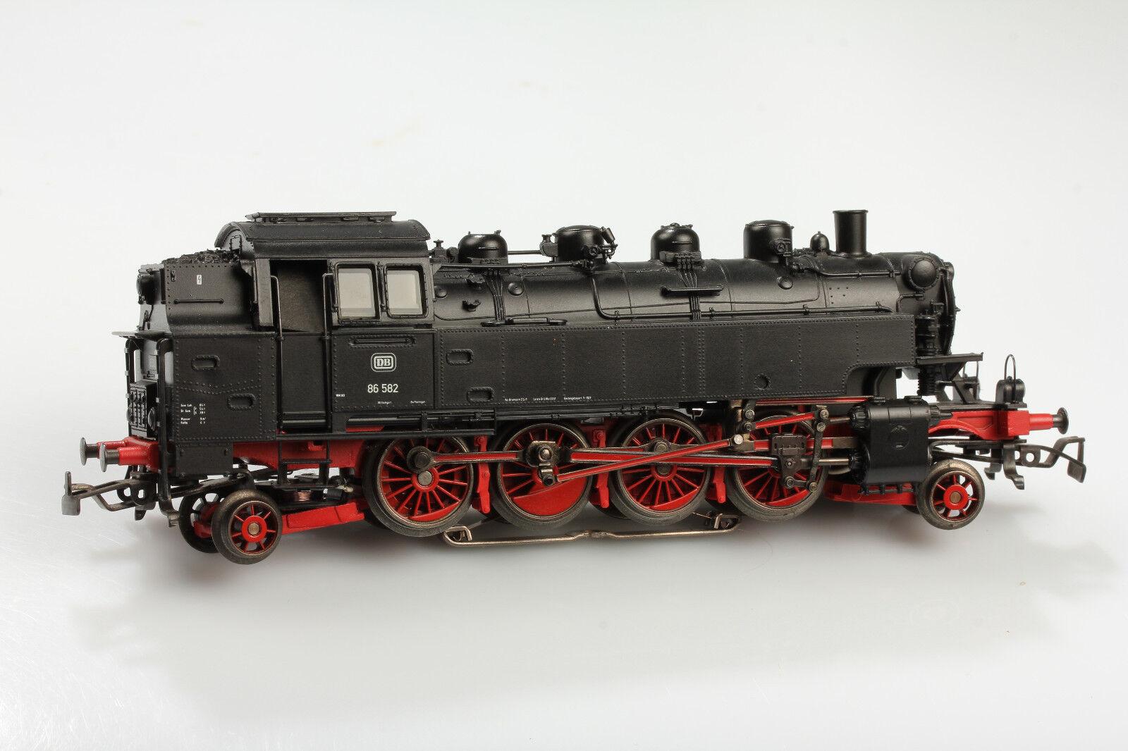 H0 Märklin Locomotora Vapor Br 86 582 Telex Funciona Sólo Dig 78 Su Vídeo