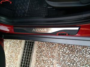 kona battitacco  Per Hyundai Kona 2018 Accessori Battitacco Protezione Soglia Porta ...