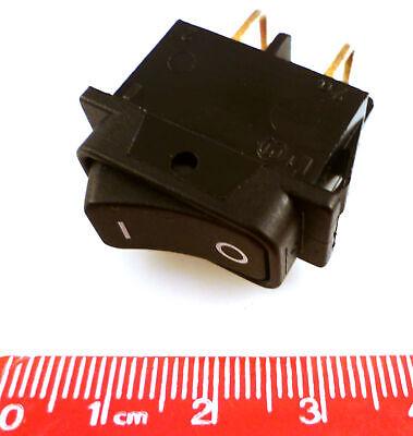 schwarz Marquardt Wippschalter 250 V//AC 16A 2 x Aus//Ein 1552.3602 IP40 rastend