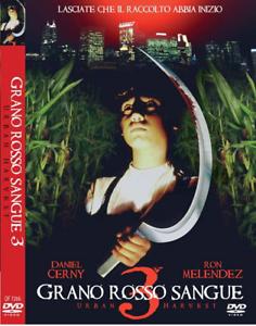 Grano-Rosso-Sangue-3-Dvd-Quadrifoglio-Nuovo