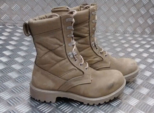 Patrol Assault Desert Genuine Issue Army Nubuck Boots Army Combat xwYwgqt6X