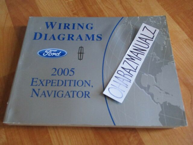2005 Ford Expedition Lincoln Navigator Wiring Diagrams