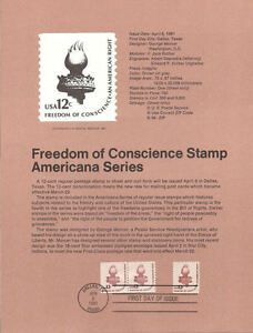 8105-2c-Freedom-Torch-Stamps-Scott-1594-1816-USPS-Souvenir-Page