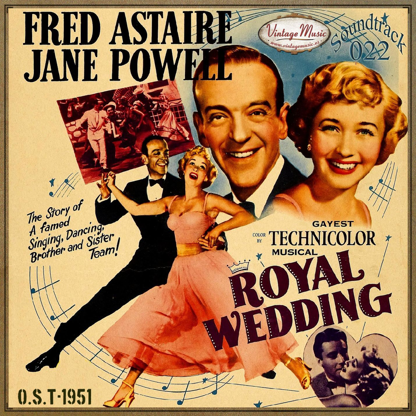Various Artistas - ROYAL WEDDING Soundtrack CD 22/100 - O.S.T Original 1951 Fred Astaire Jane Powell - CD