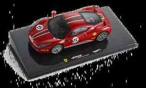 Mattel-Hot-Wheels-1-43-X5504-Ferrari-458-Italia-5-Challenge-Press-NEW