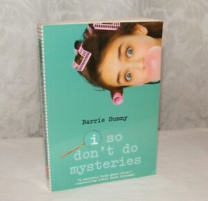 I So Don't Do Mysteries - by Barrie Summy - Scholastic Children's Paperback Book
