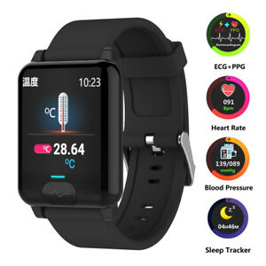 Bluetooth-Smart-Watch-ECG-PPG-Heart-Rate-Blood-Pressure-Monitor-Sport-Bracelet