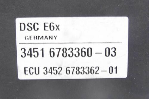 BMW E60 E63 E64 5-Series DSC ABS Anti-Lock Brake Traction Control Pump 2008-2010