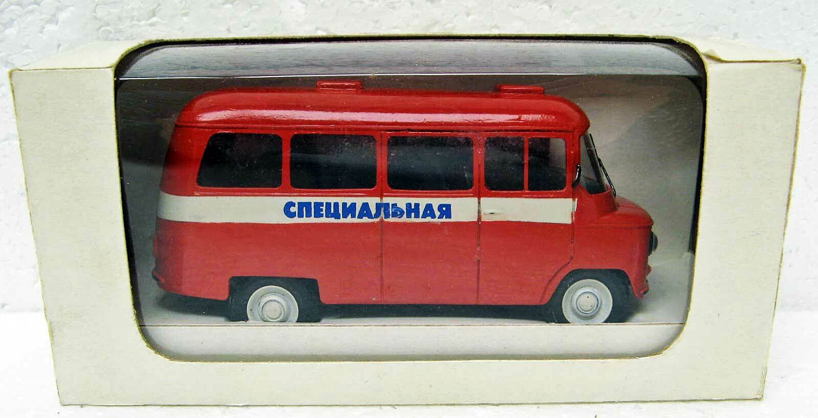 Handmade Polish NYSA-522 Emergency minibus 1 43 Vector - Models Ukraine MB