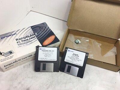 *NEW* Proxim PC Card 7400 Intermec Trakker 2425