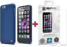 iPhone 6s/6 Case + Screen Protector Kit Bundle - (Indigo Blue + Clear Ultra-HD)
