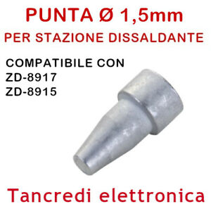 PUNTA N5-1 UGELLO Ø 0,8mm PER PISTOLA STAZIONE SSD-87 SSD-15 SSD-17