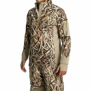 fe5d090db Browning Dirty Bird Smoothbore Pullover 1 4 Zip Fleece Jacket  160 Camo  Hunt SGB Clothing