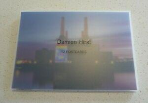 Damien-Hirst-12-Postcards-Set-Heni-Ltd-Ed-Numbered-Rainbow-Butterfly-Heart